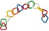 Řetízek z barevných kroužků Farlin