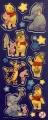 Samolepky Disney Medvídek Pů svítící ve tmě - arch A
