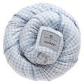 Šátek na nošení dětí Belly Button Manduca Sling SoftCheck blue