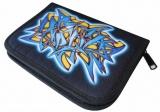 Školní penál Graffiti jednochlopňový prázdný Herlitz 8229312