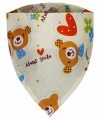 T-Tomi Dětský šátek 5 v 1 - medvídci