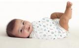 Zavinovačka pro novorozence SwaddleMe Kicksie Summer Infant - zoologická zahrada