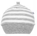 Čepička bavlněná novorozenecká exclusive - bílá velikost 56 (0-6 měsíců)