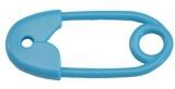 Chrastítko zavírací špendlík Farlin - modré