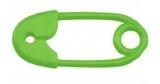 Chrastítko zavírací špendlík Farlin - zelené