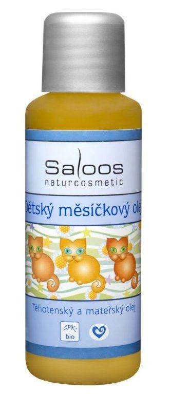 Dětský měsíčkový olej 50ml Saloos