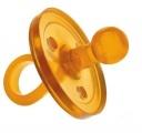Dudlík - šidítko pro miminka 0-3 měsíce - celokaučukové mini S Goldi