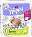 Jednorázové plenkové kalhotky Happy Before New Born do 2 kg pro nedonošené děti