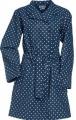 Pláštěnka dámská modrá s puntíky Playshoes - plášť do deště