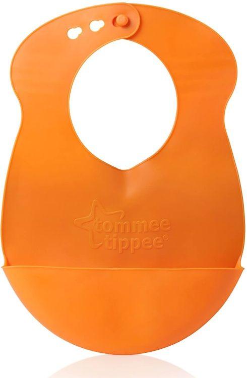 Plastový bryndáček rolovací oranžový Tommee Tippee