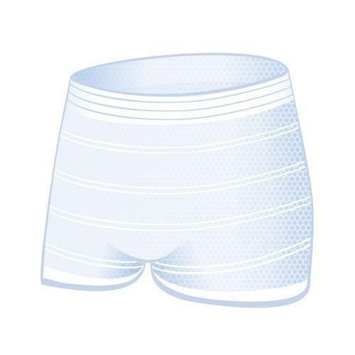 Síťované kalhotky do porodnice po porodu prací XL Bella Mamma