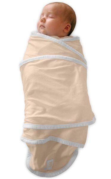 Zavinovačka pro novorozence Miracle blanket béžová-bílá Red Castle